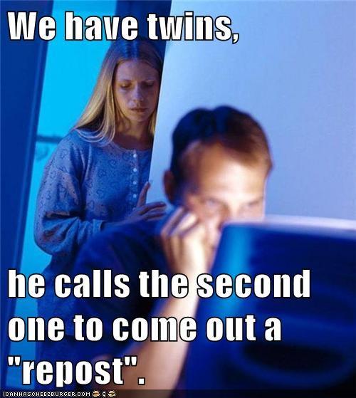 comments,Internet Husband,repost,twins