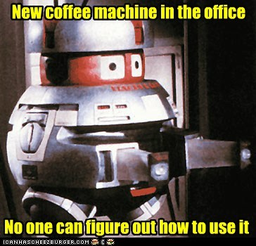 New coffee machine in the office