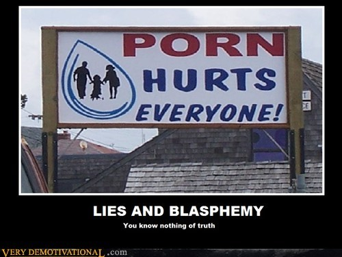 LIES AND BLASPHEMY