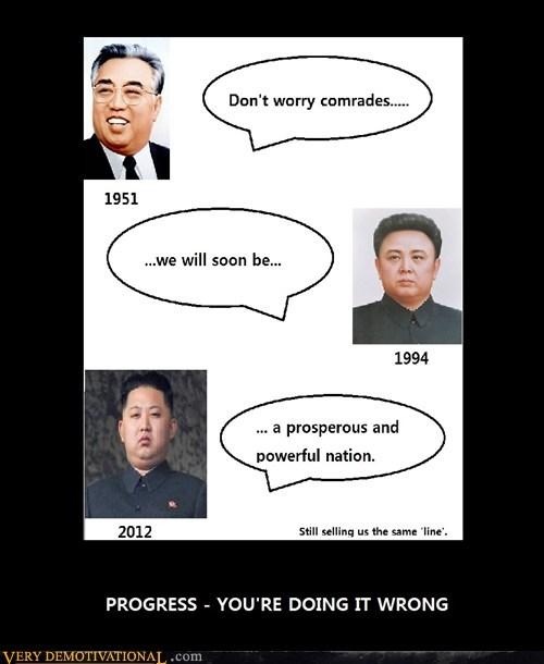 hilarious,North Korea,progress,wtf