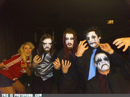 black metal,facepaint,Moment Of Win,stole the show