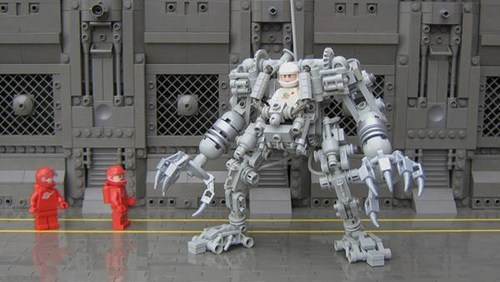 Lego Exoskeleton of the Day
