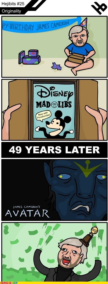 Avatar,james cameron,mad libs,mother of god,movies,pocahontas,the internets