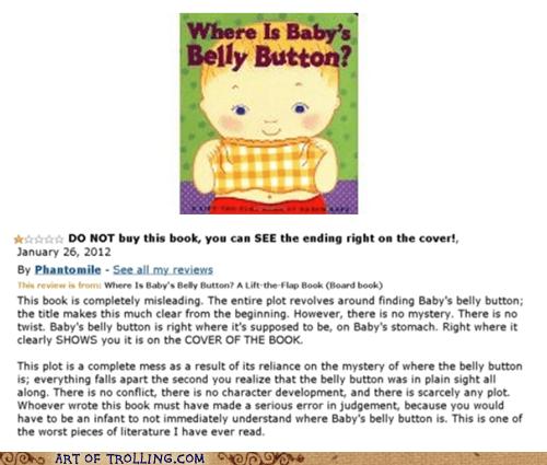 belly button,book,Memes,plot,shoppers beware,spoiler