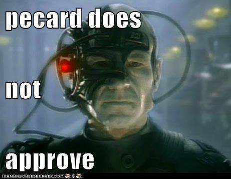 pecard does not approve