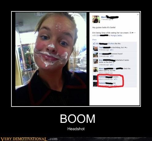 eww,facebook,headshot,hilarious,wtf