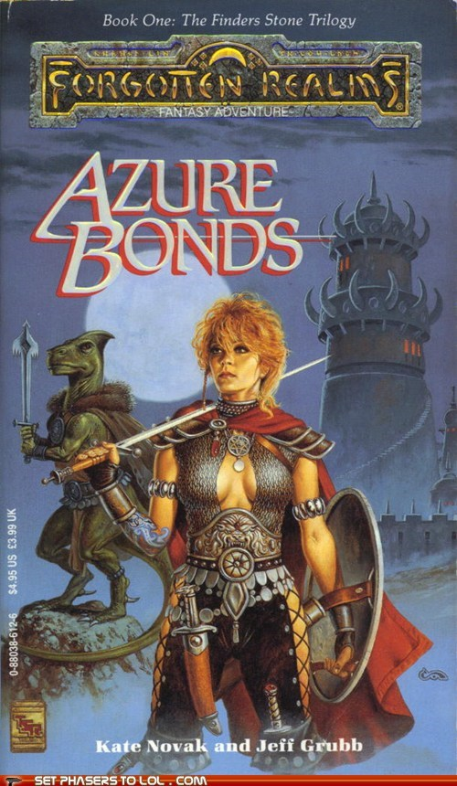 WTF Fantasy Book Covers: Azure Bonds