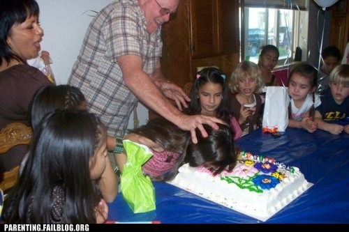 birthday,birthday party,cake,cake in face,dad