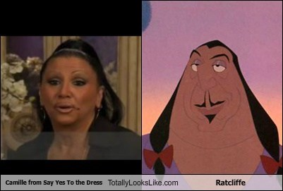 "Camille from ""Say Yes To the Dress"" Totally Looks Like Ratcliffe ""Pocahontas"""
