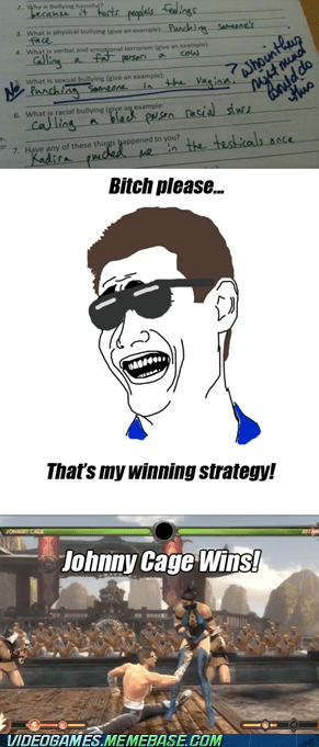 Johnny Cage's Winning Strategy