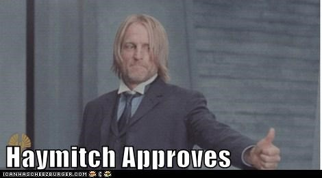 Haymitch Approves