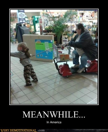 america,hilarious,kid,leash,Meanwhile,rascal,shopping