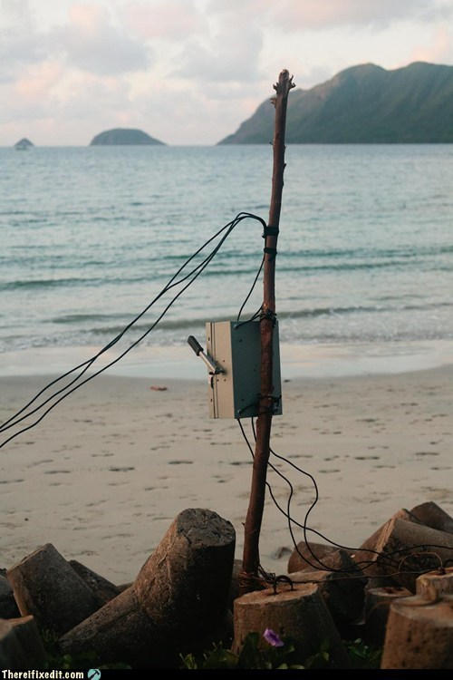 beach,code,electricity,exposed wires,wires