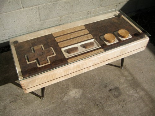 NES Controller Coffee Table of the Day