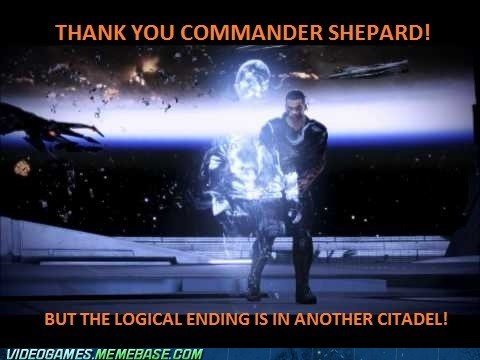 Sorry Commander Shepard
