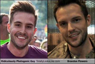 Ridiculously Photogenic Guy Totally Looks Like Brandon Flowers