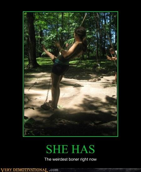 SHE HAS