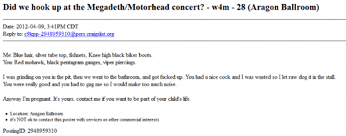 Craigslist Ad of the Day