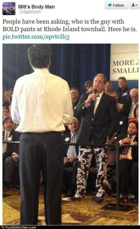 election 2012,Mitt Romney,pants,political pictures,Republicans