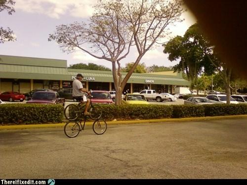 bicycle,tandem bike