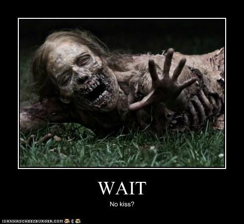 dead,KISS,Reach,The Walking Dead,wait,zombie