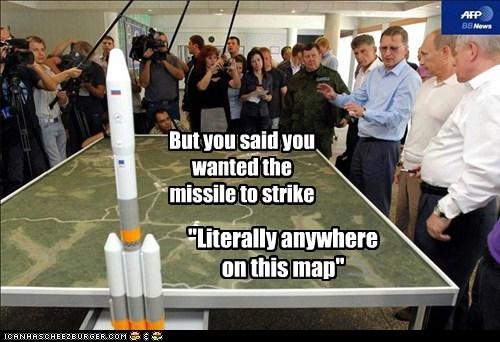 Maps,missiles,political pictures,Vladimir Putin