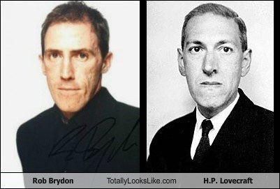 Rob Brydon Totally Looks Like H.P. Lovecraft