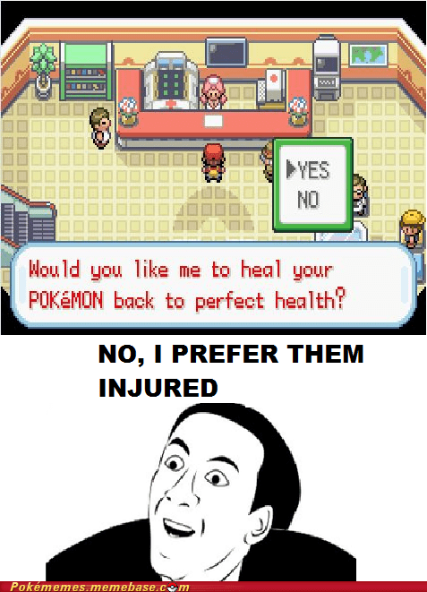Pokémon Center Logic