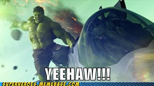 Hulk Always Has Fun