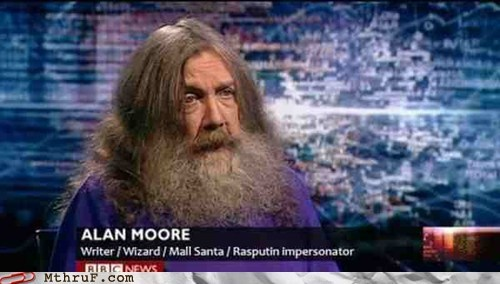 Alan Moore's Day Job