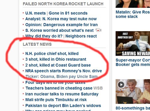 Media,Mitt Romney,NRA,political pictures