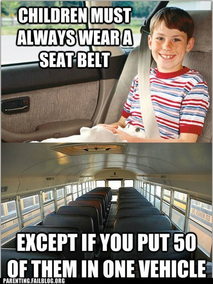 Parenting Fails: BUS-ted!