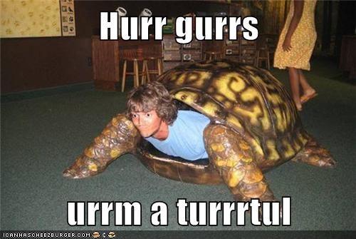 I Lurrrke Turrrrtuls