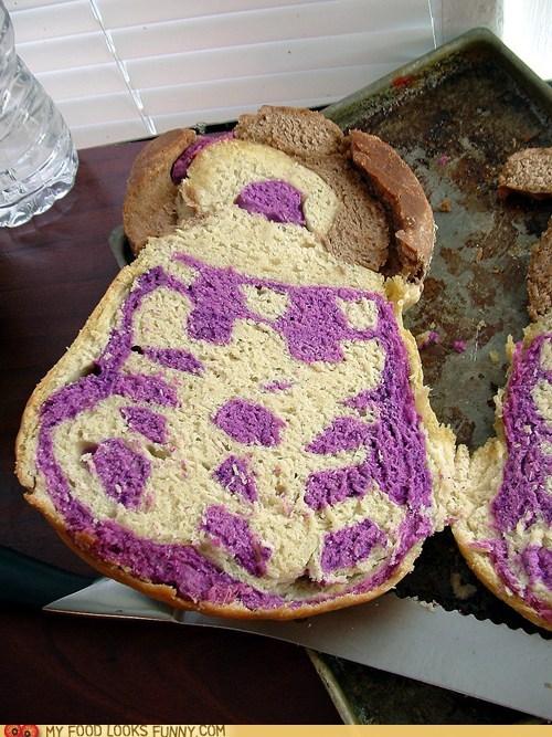 bread,dalek,doctor who,purple