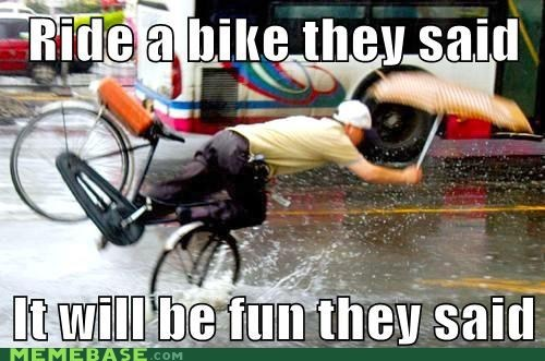 bike,crash,riding,They Said,umbrella