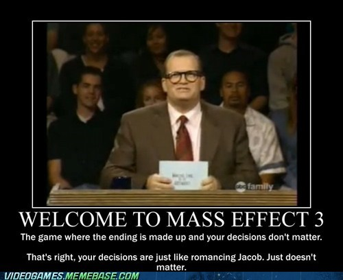 Welcome to Mass Effect 3