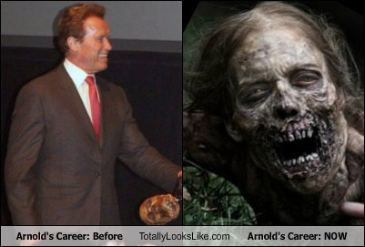 Arnold's Career: Before Totally Looks Like Arnold's Career: NOW