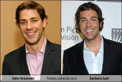 John Krasinski Totally Looks Like Zachary Levi