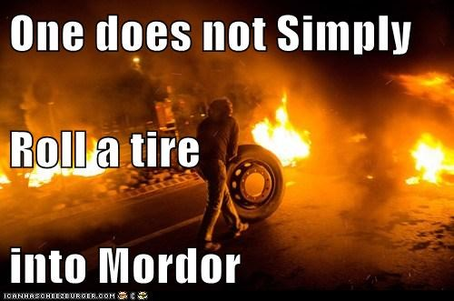 Tell it to Boromir