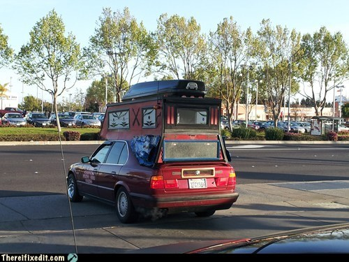 The Double Decker Car