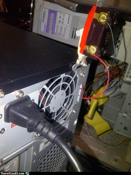 mobo,motherboard,power switch,speaker jumper