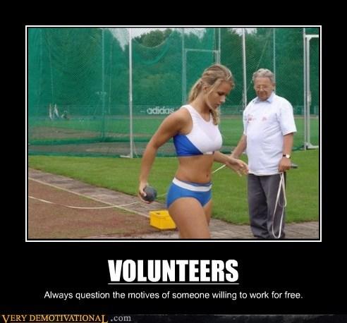 hilarious,Sexy Ladies,sports,volunteer