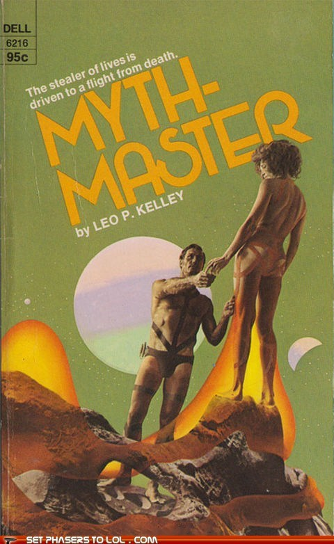 WTF Sci-Fi Book Covers: Myth-Master