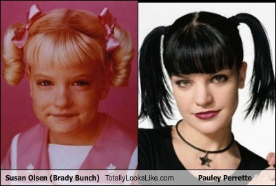Susan Olsen (Brady Bunch) Totally Looks Like Pauley Perrette