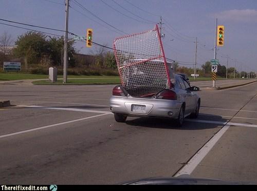 goal,hockey,puck,transport,trunk