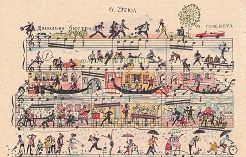 art,sheet music
