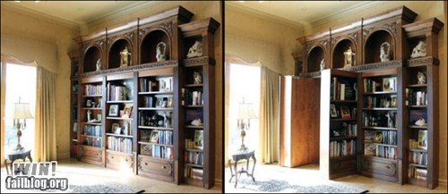 architecture,book case,bookshelf,design,g rated,hidden room,win