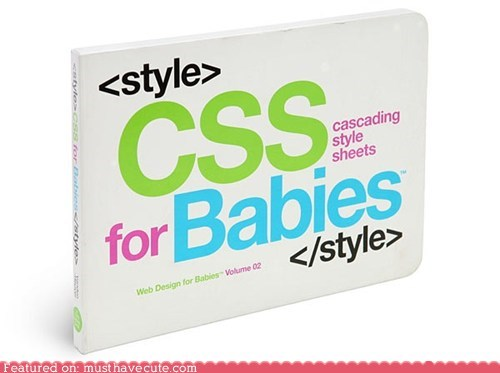 Babies,book,css,development,programming,software,Tech