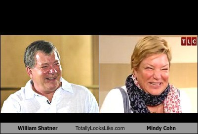 William Shatner Totally Looks Like Mindy Cohn