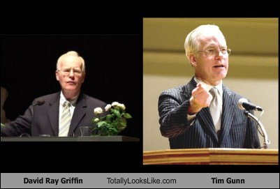 David Ray Griffin Totally Looks Like Tim Gunn